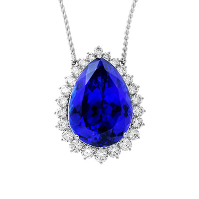 Pt900 4.12ct D付 ネックレス